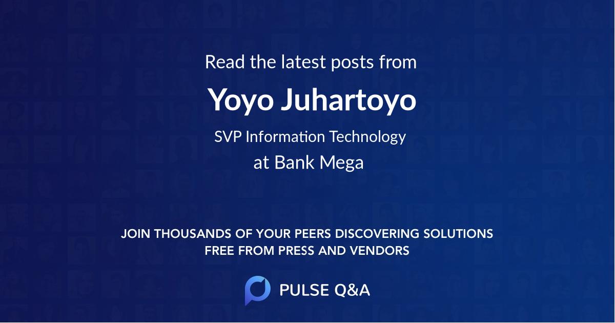 Yoyo Juhartoyo