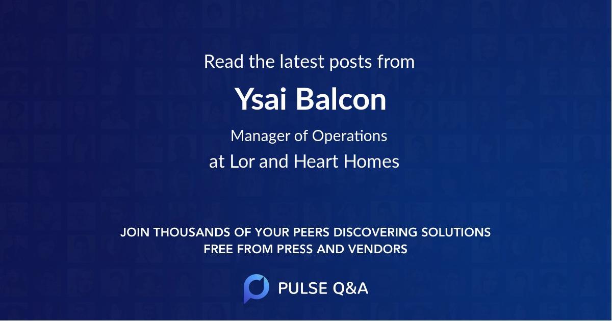 Ysai Balcon