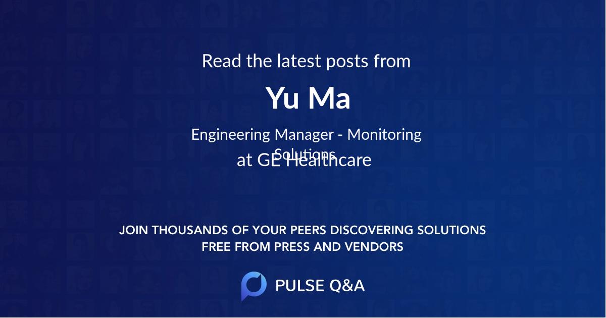 Yu Ma