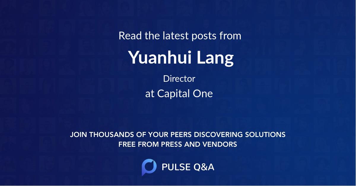 Yuanhui Lang