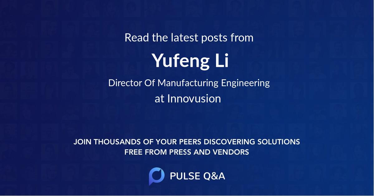 Yufeng Li