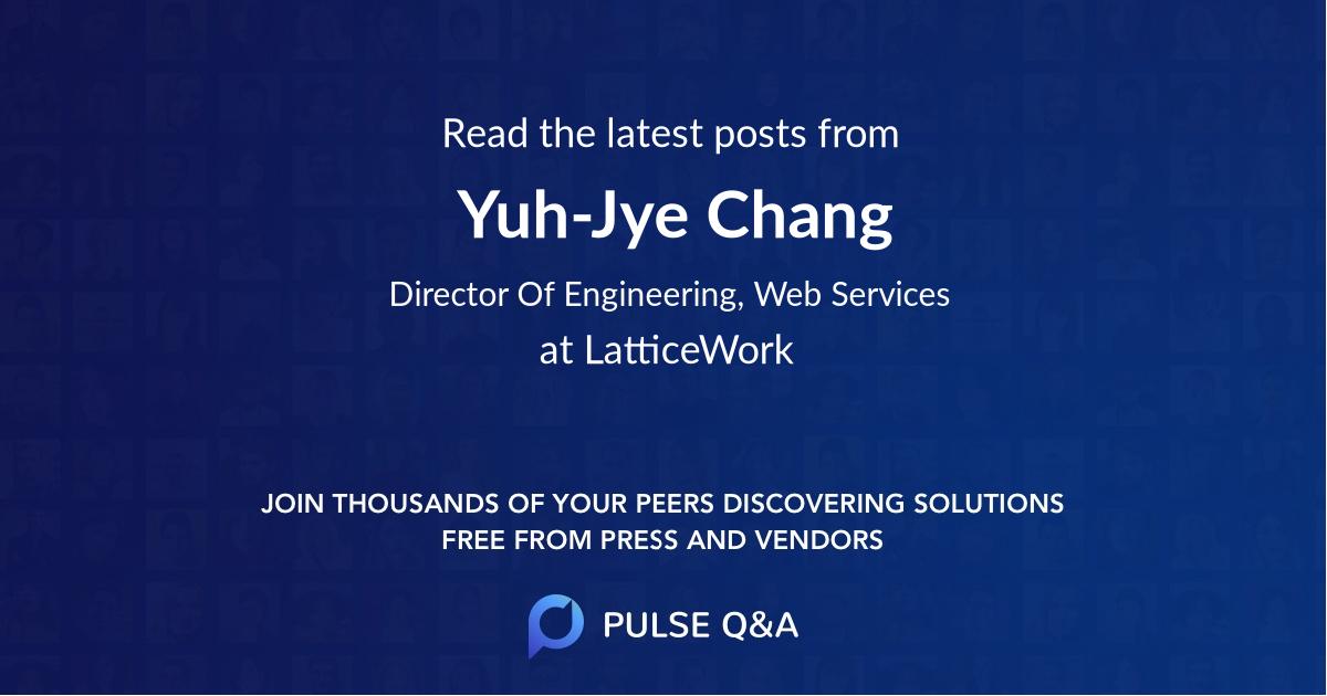 Yuh-Jye Chang