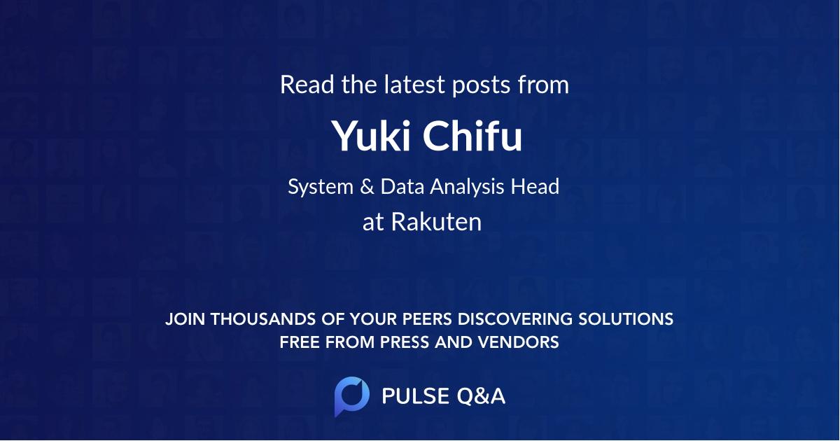 Yuki Chifu