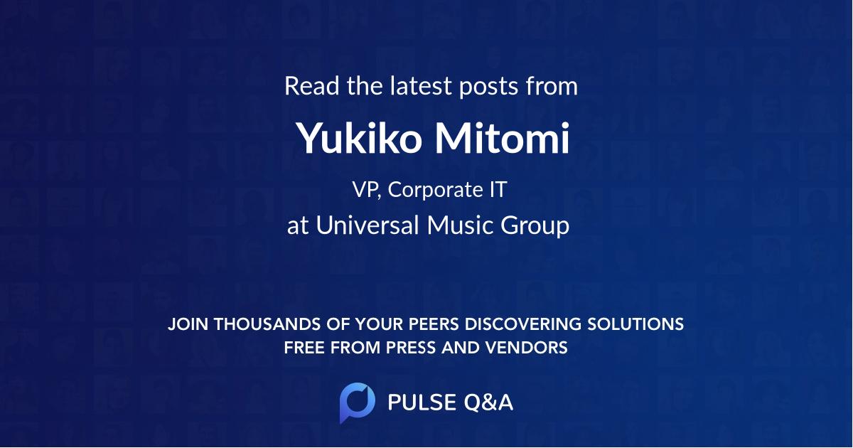 Yukiko Mitomi