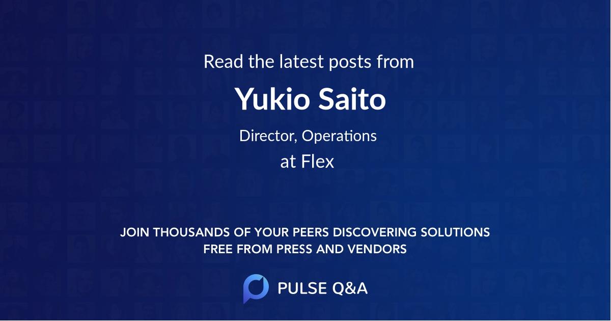Yukio Saito