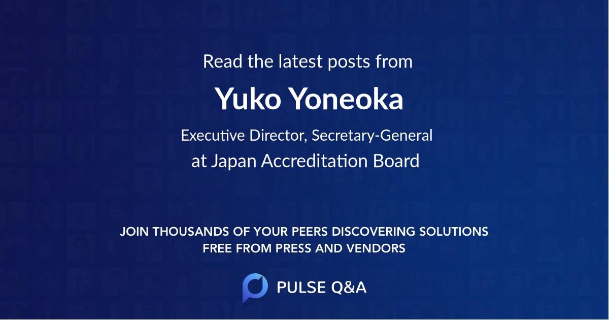 Yuko Yoneoka