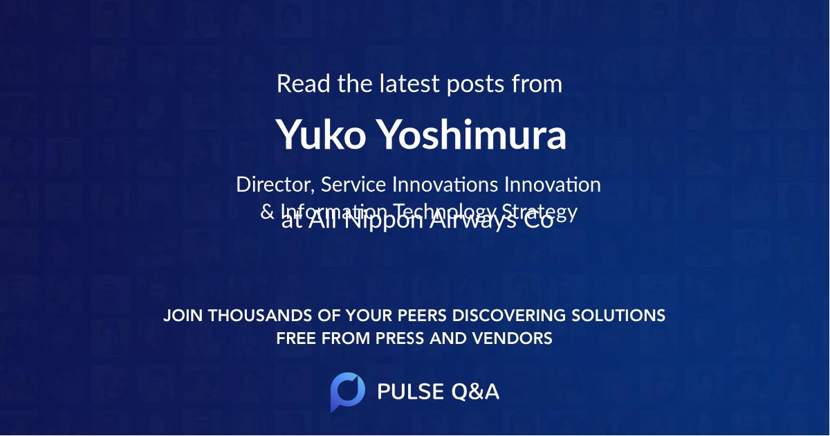 Yuko Yoshimura