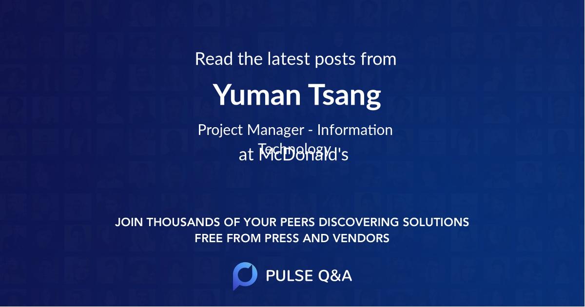 Yuman Tsang