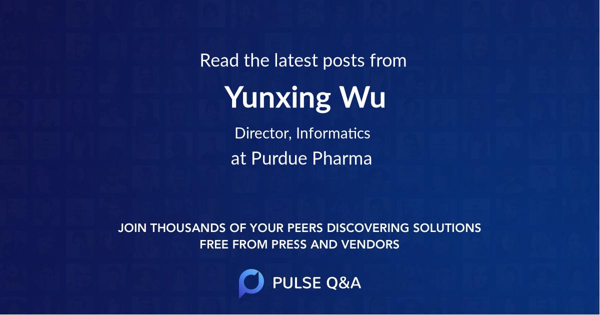 Yunxing Wu