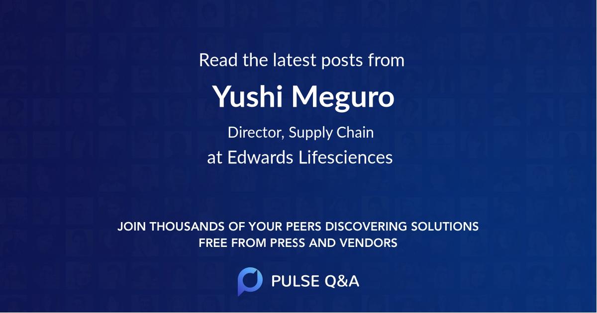 Yushi Meguro