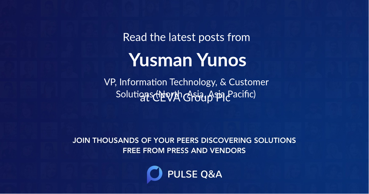 Yusman Yunos
