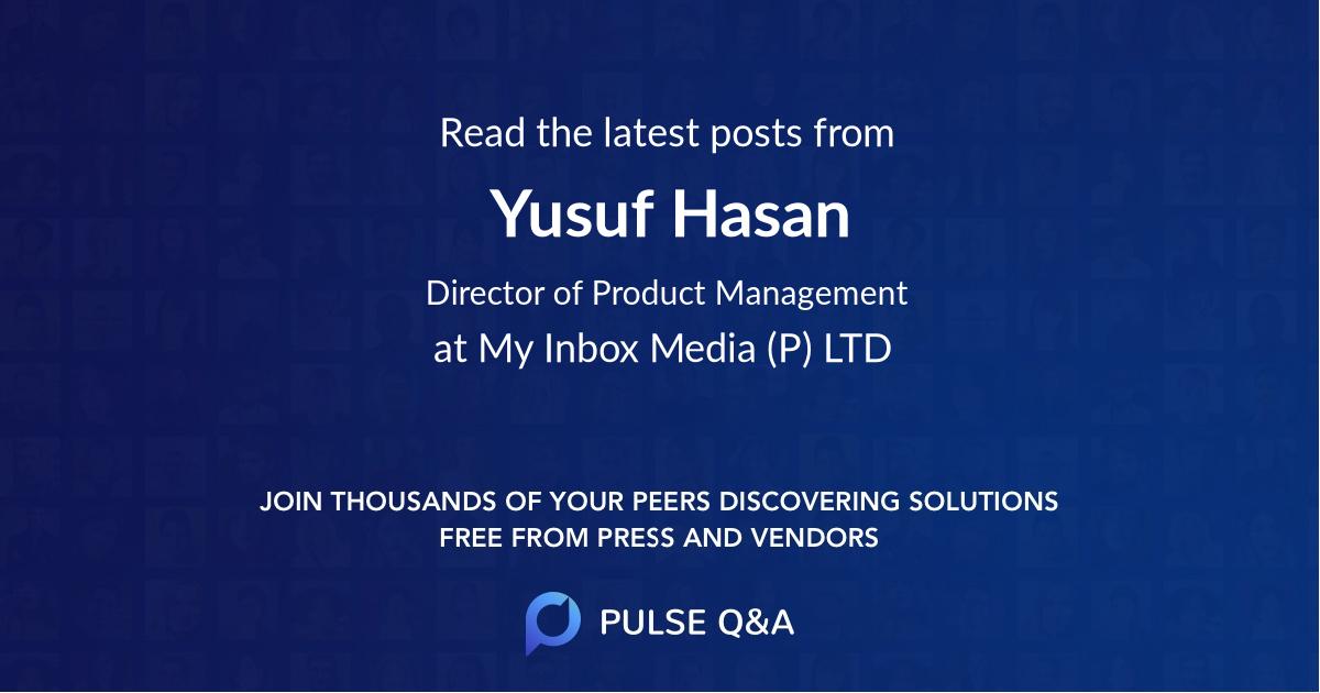 Yusuf Hasan