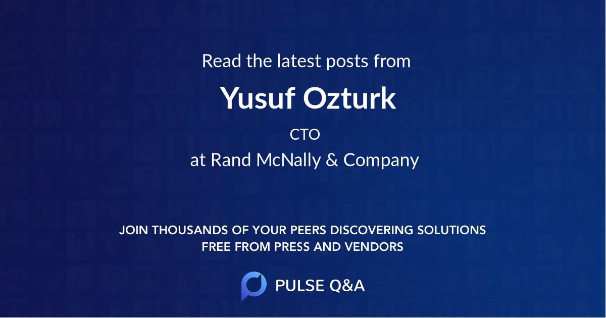 Yusuf Ozturk