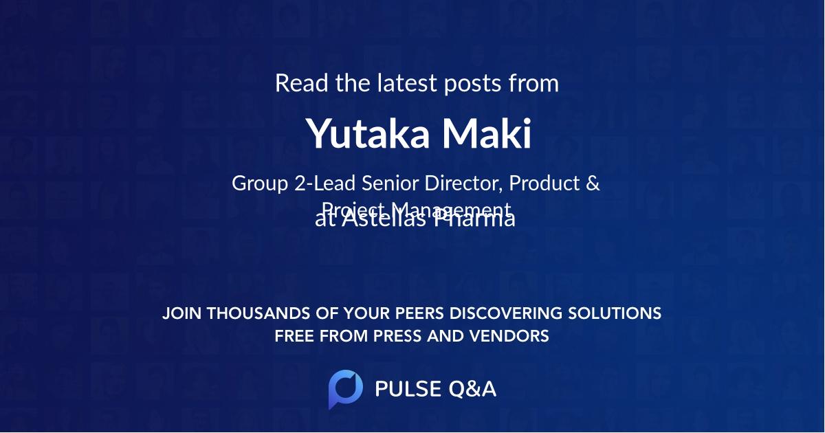 Yutaka Maki