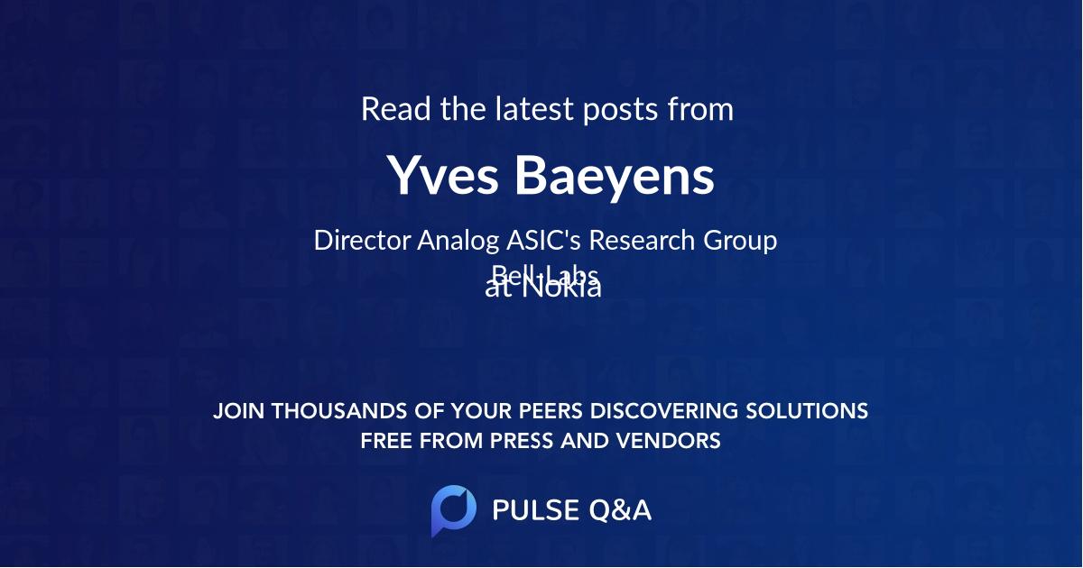 Yves Baeyens