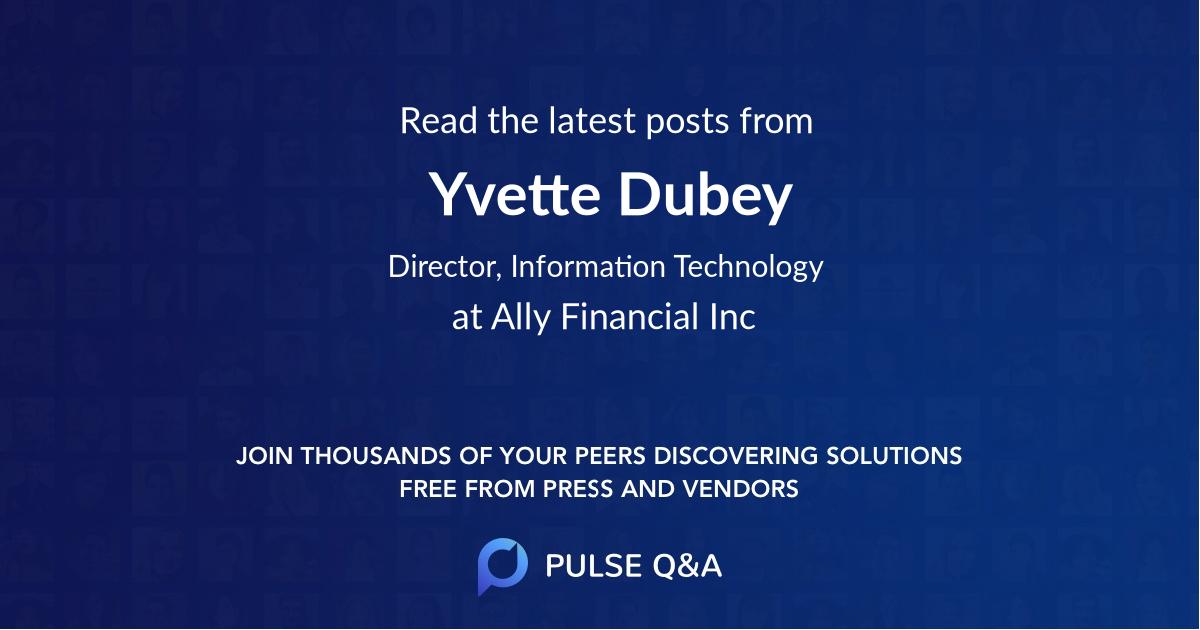 Yvette Dubey