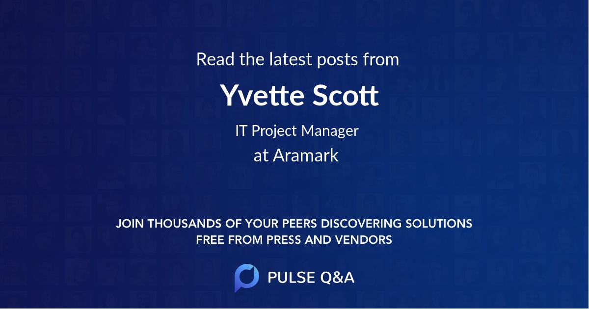 Yvette Scott
