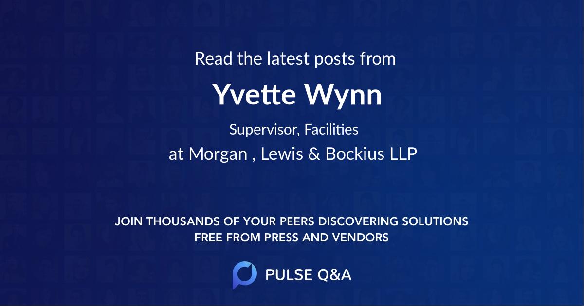 Yvette Wynn