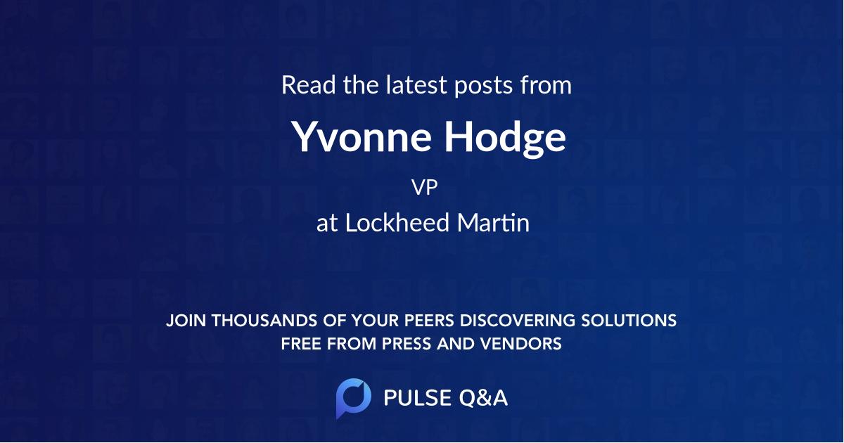 Yvonne Hodge