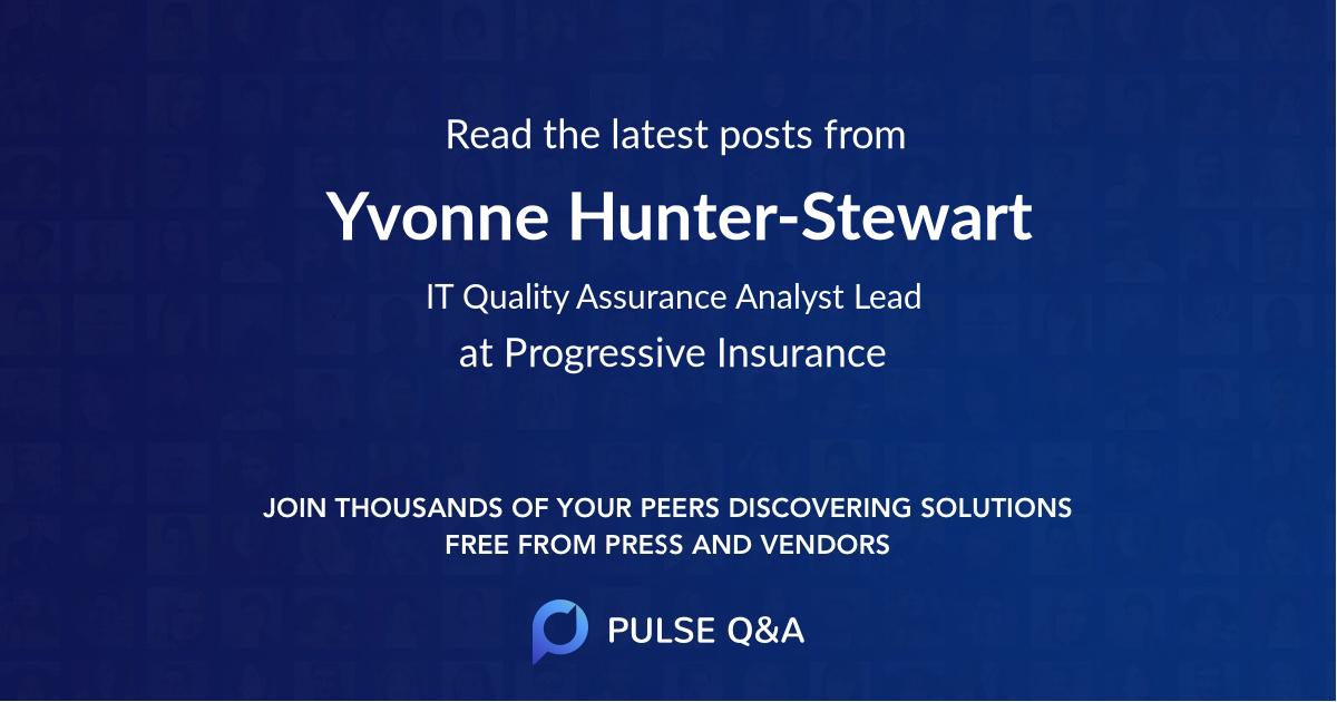 Yvonne Hunter-Stewart