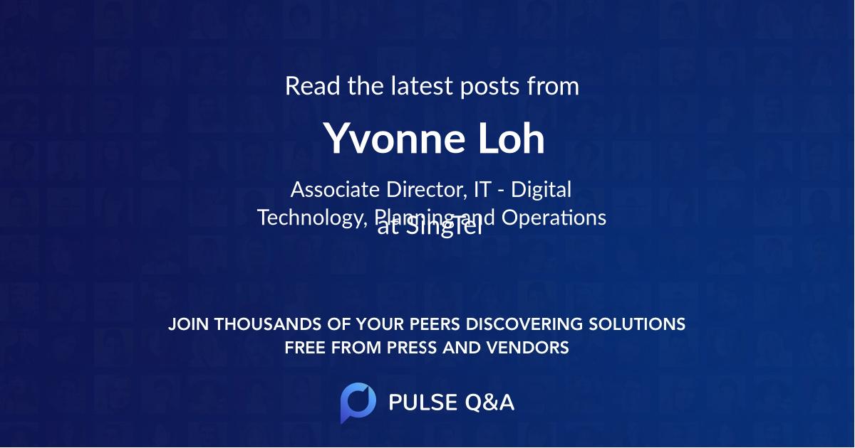 Yvonne Loh