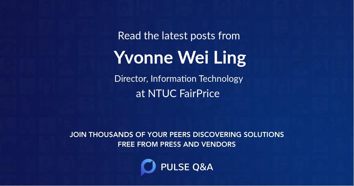 Yvonne Wei Ling