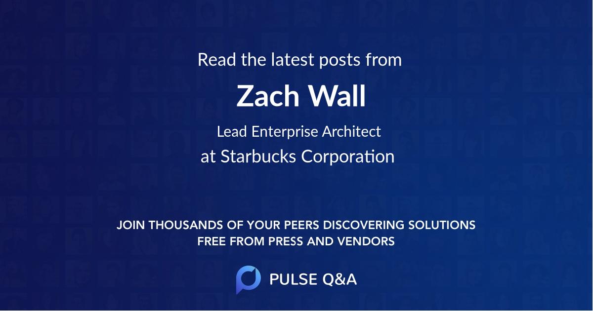 Zach Wall