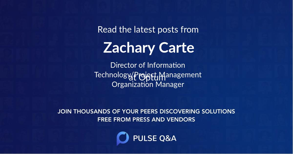 Zachary Carte