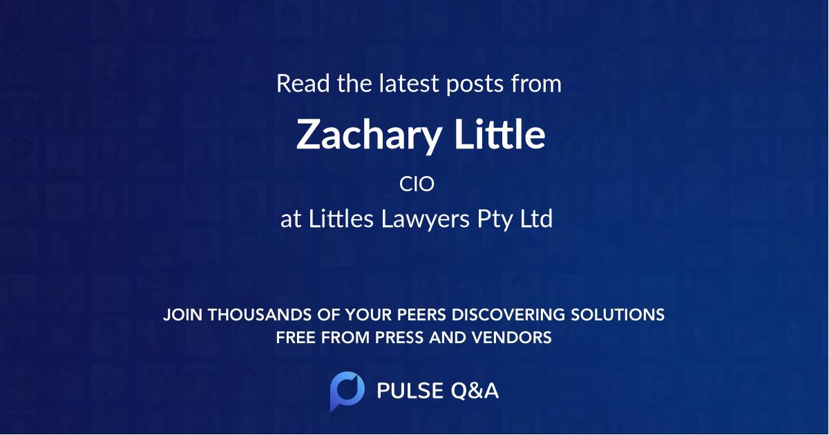 Zachary Little