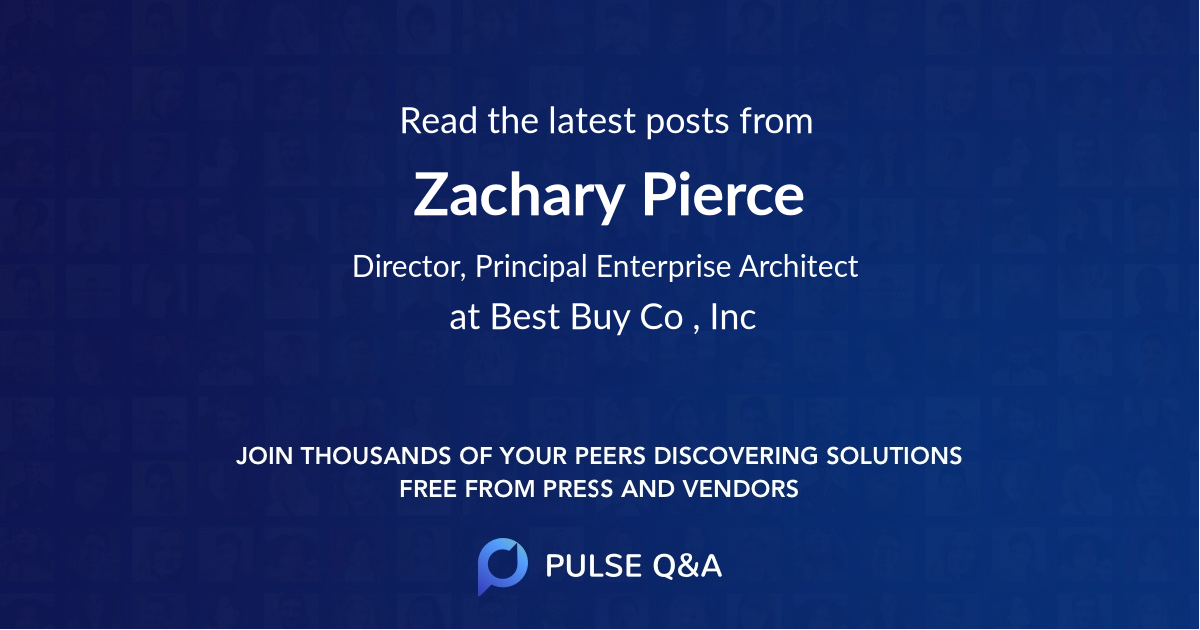 Zachary Pierce