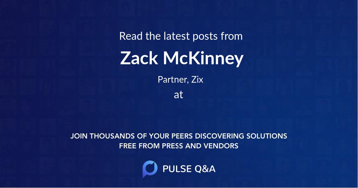 Zack McKinney
