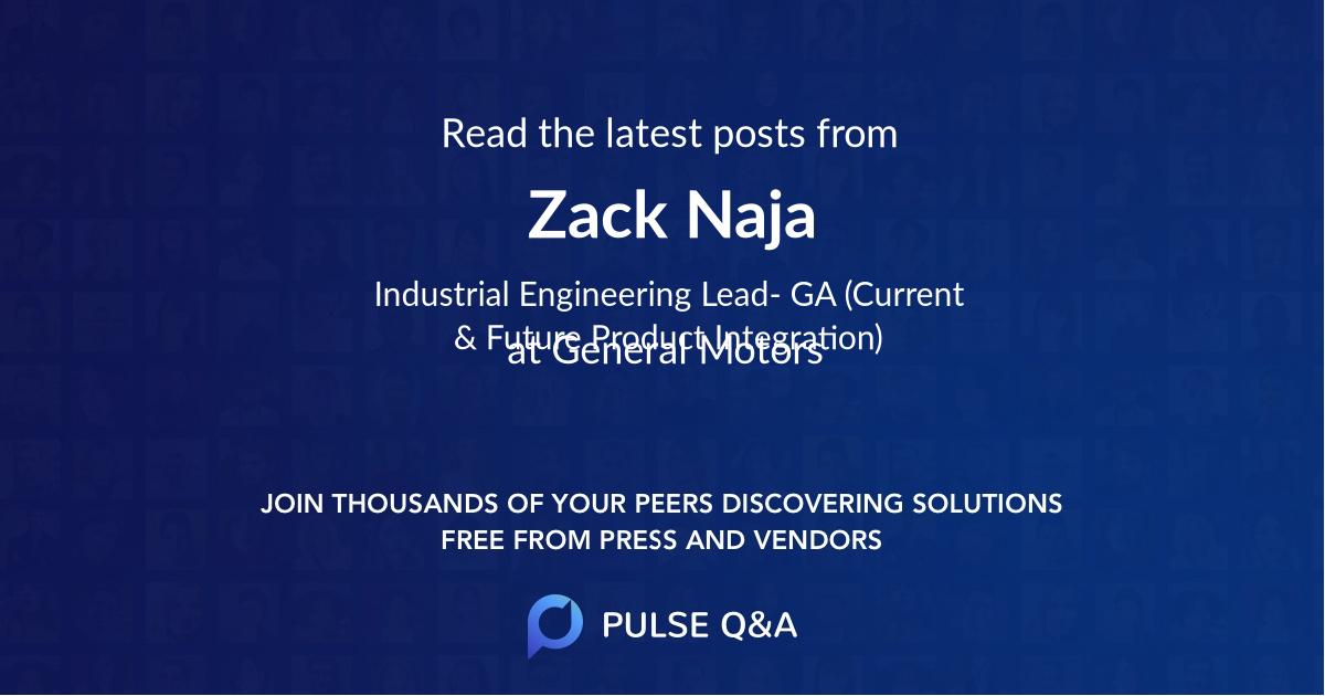 Zack Naja