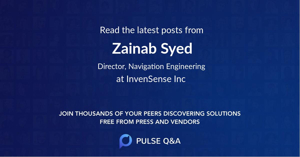 Zainab Syed