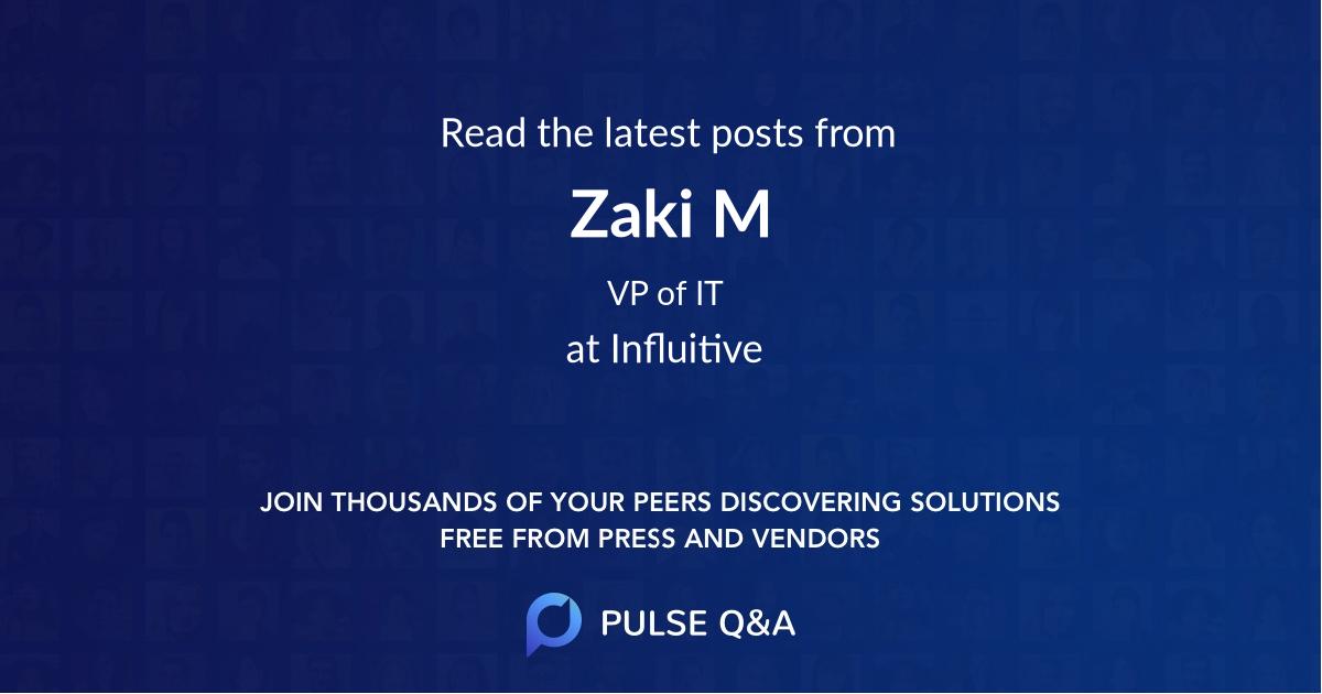 Zaki M