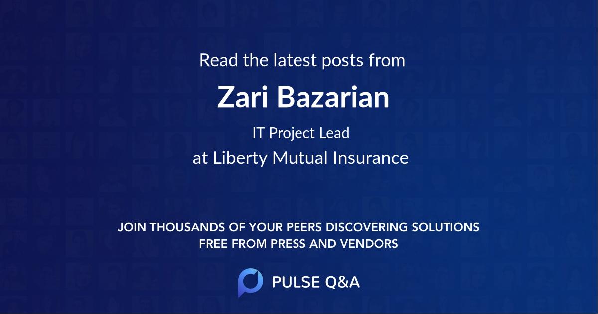 Zari Bazarian