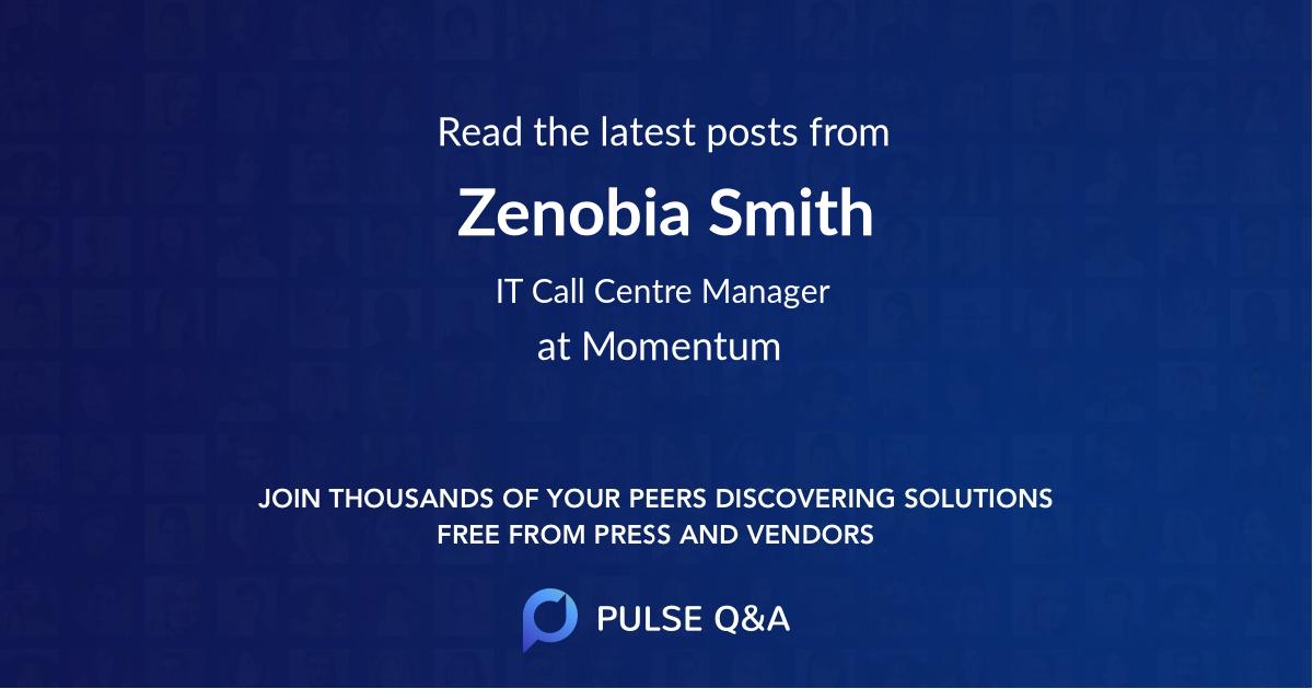 Zenobia Smith