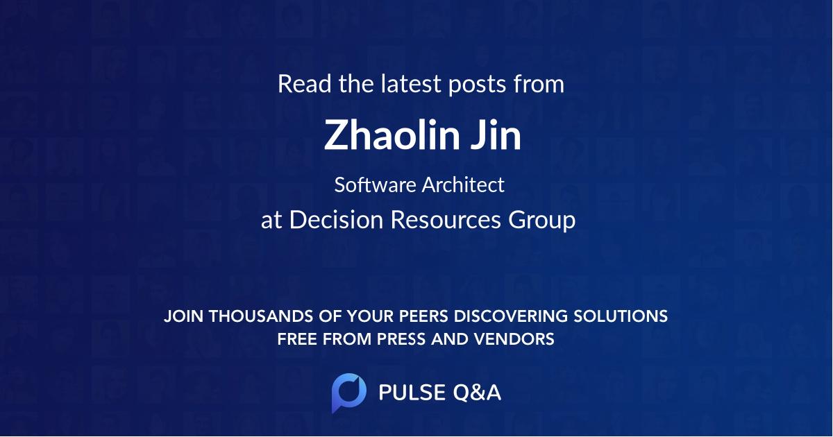 Zhaolin Jin