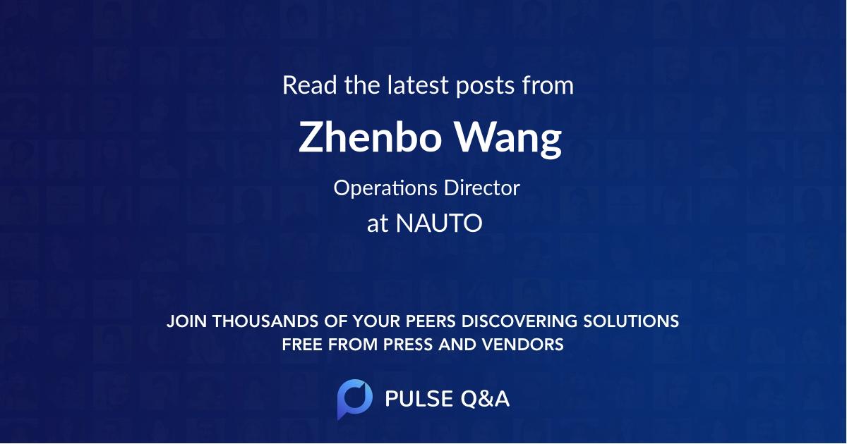 Zhenbo Wang