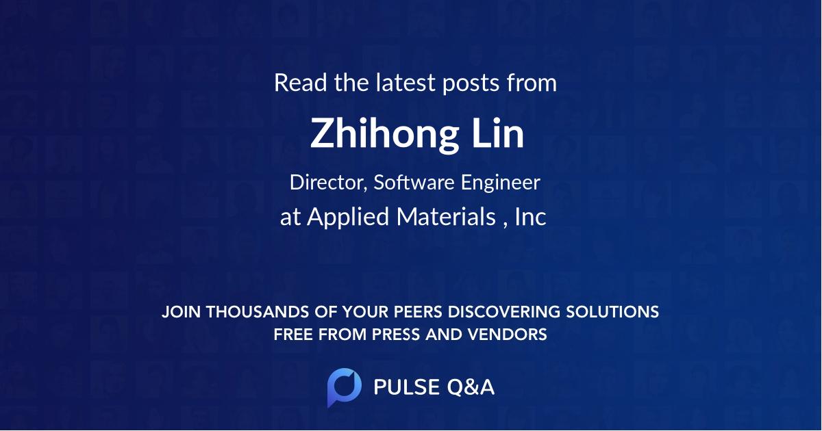 Zhihong Lin