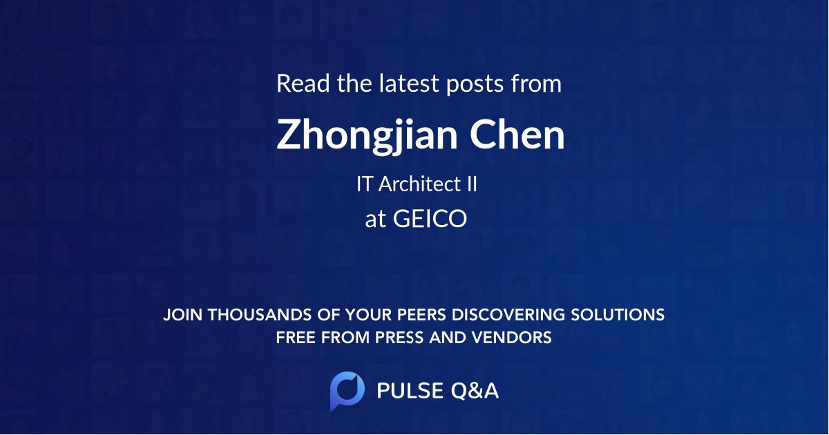 Zhongjian Chen
