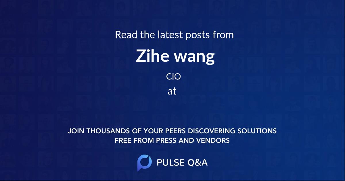 Zihe wang
