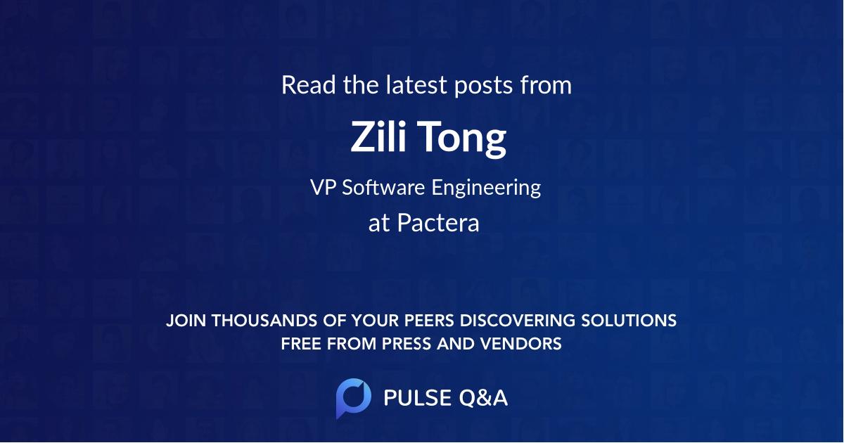 Zili Tong