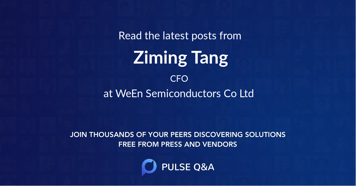 Ziming Tang
