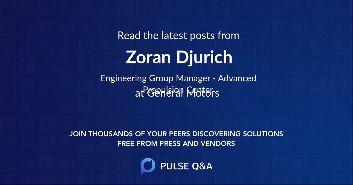 Zoran Djurich