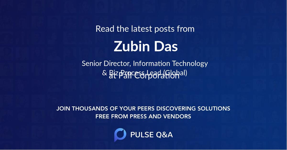 Zubin Das