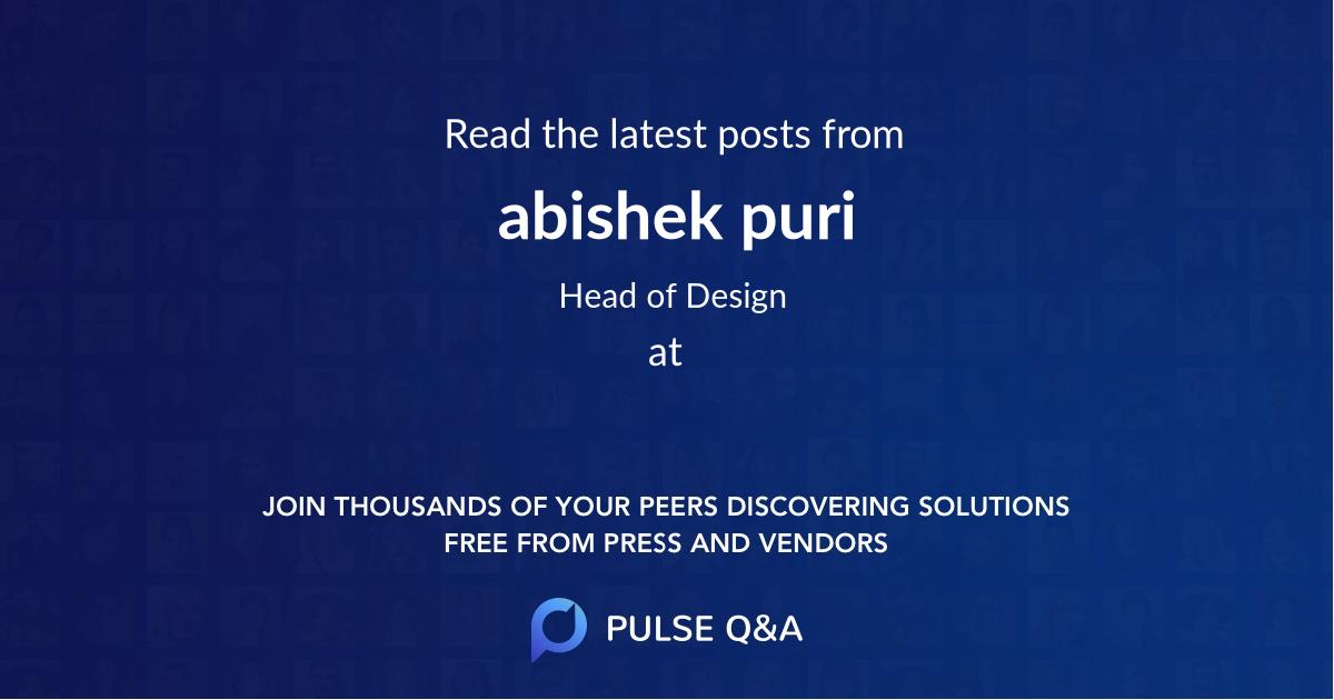 abishek puri