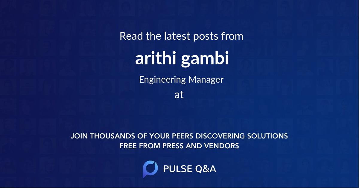 arithi gambi