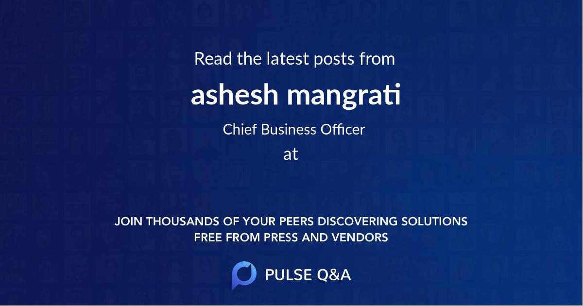 ashesh mangrati
