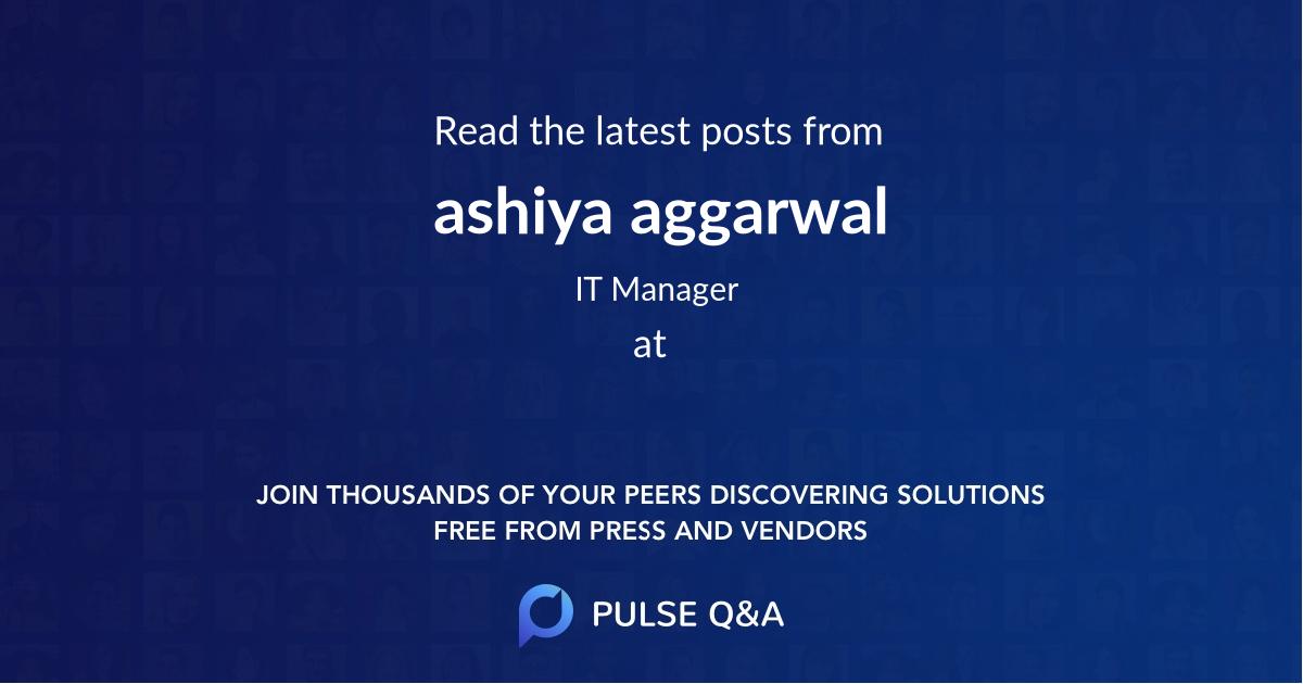 ashiya aggarwal