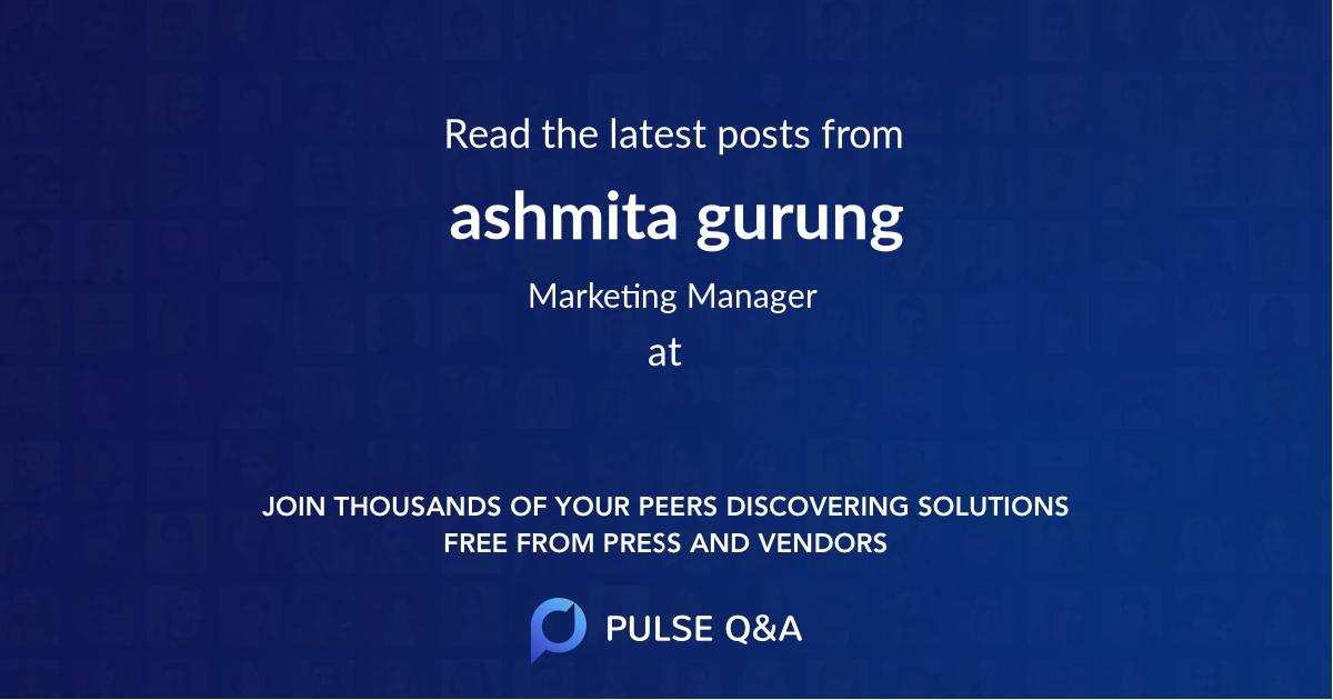 ashmita gurung